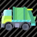 garbage, truck