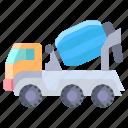 mixer, truck
