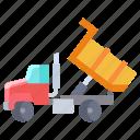 tipper, truck
