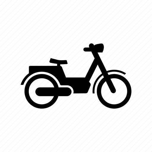 delivery, motorbyke, transport, vehicle icon