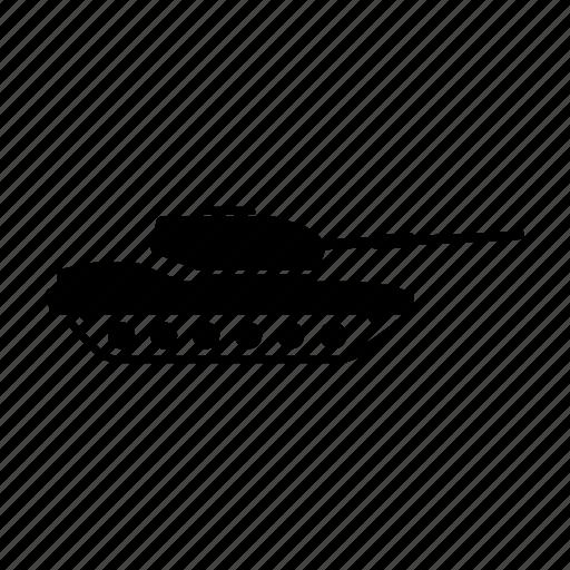 tank, vehicle, war icon