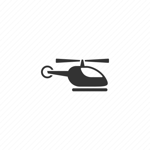 chopper, fly, helicopter, hover, illustration, vehicle icon