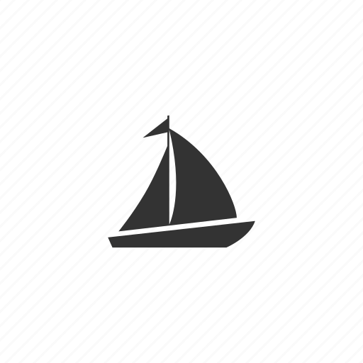 boat, float, race, recreational, sailboat, sailing, ship, travel, vacation, water icon