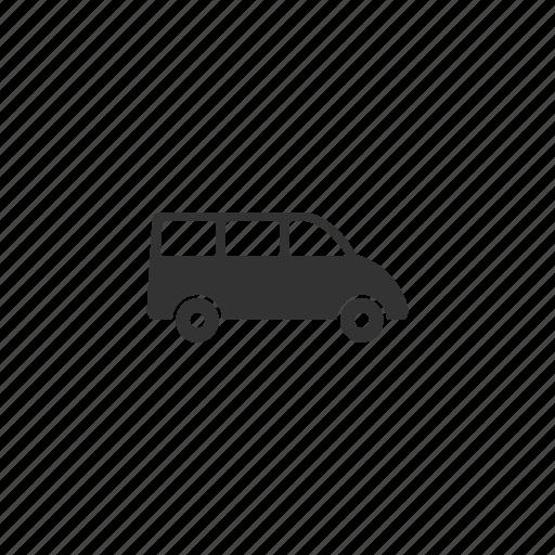 automobile, buggy, cab, car, illustration, machine, transportation, travel, van icon
