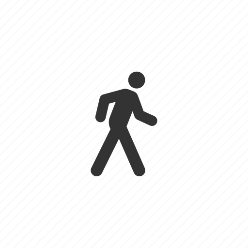 business, head, male, man, people, person, profile, stick figure, user, users, walking icon