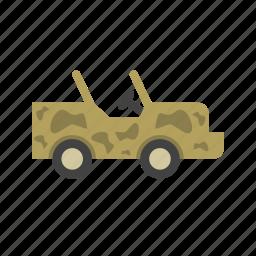 desert, jeep, pickup, road, safari, truck, vehicle icon