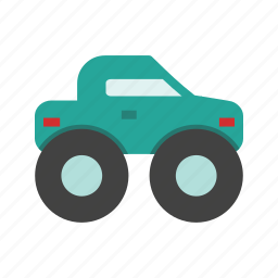 big, drive, monster, offroad, race, truck, vehicle icon