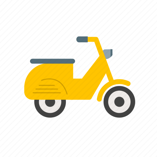 bike, motor, scooter, speed, travel, vehicle, vespa icon