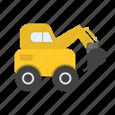 construction, dumper, equipment, excavator, machinery, truck, work