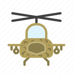 apache, army, blades, flight, helicopter, military, sky icon