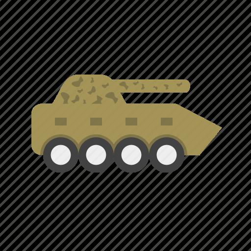 battle, gun, machine, tank, vehicle, war, weapon icon