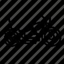 bike, chopper, harley, motor, vehicle icon