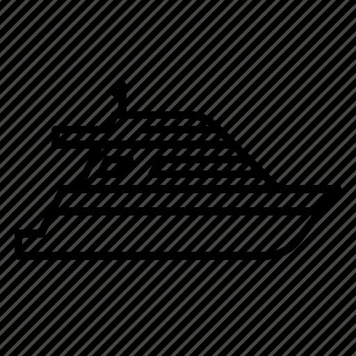 boat, cruise, sail, ship, yatch icon
