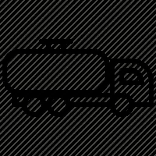 Fuel, transport, truck, tanker icon - Download on Iconfinder