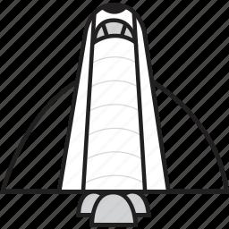 launch, rocket, space, spacecraft, spaceship, spaceshuttle icon