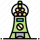 automatic, candy, machine, toy, vending icon