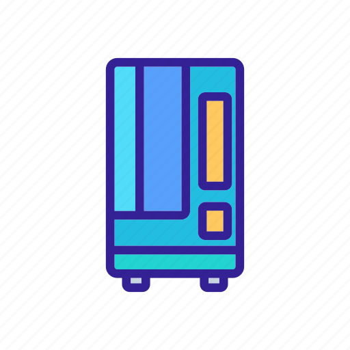 Cold, drinks, machine, sell, service, tool, vending icon - Download on Iconfinder