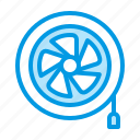 equipment, fan, hvac, ventilation icon