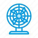 cooling, equipment, fan, hvac, ventilation icon