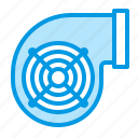 duct, equipment, hvac, ventilation icon