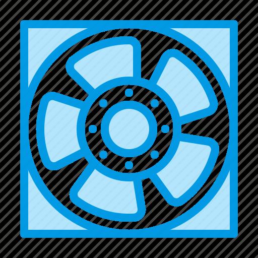 equipment, fan, hvac, ventilation icon