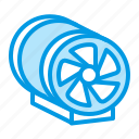 duct, equipment, fan, hvac, ventilation icon