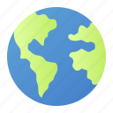 earth, globe, language, planet icon