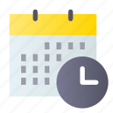calendar, schedule, time, timetable icon
