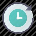 machine, redo, restore, time icon