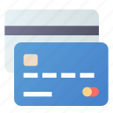 cards, credit, debit, multiply icon
