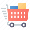 cart, delivery, shop, shopping icon