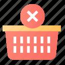 cart, delete, shop, shopping icon