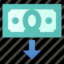 cashout, money icon