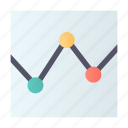 analytics, chart, graph, stats icon