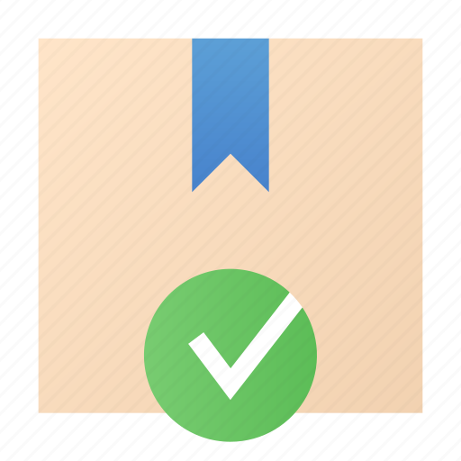 box, done, package, product icon