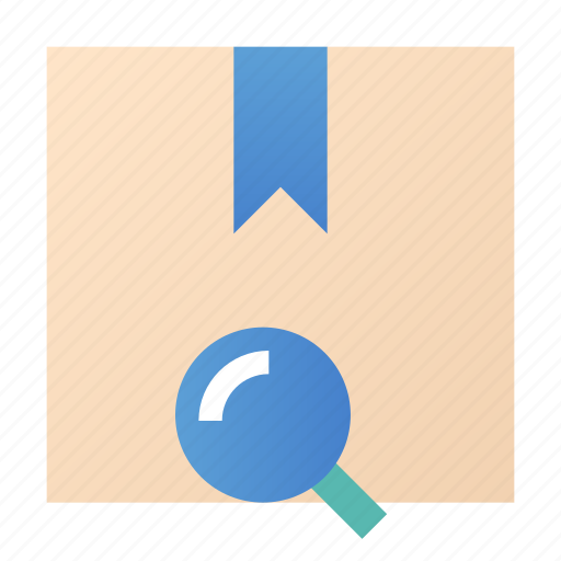 box, package, product, tracking icon