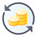 business, investments, money icon