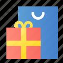bag, gift, shopping icon