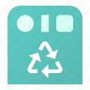 collection, garbage, separate icon