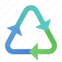 circulation, cycle, recycle, recyling icon