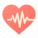 heart, pulse icon