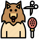 animal, beauty, dog, grooming, paw, pet, saloon