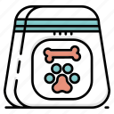 food, medical, pet care, vet, veterinarian, veterinary icon
