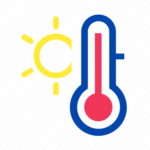 boil, heat, hot, summer, sun, sweat, thermometer icon