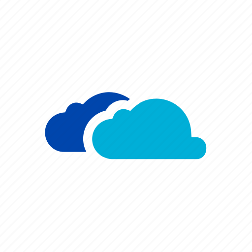 clouds, cloudy, dark, rain, storm, thunder, weather icon