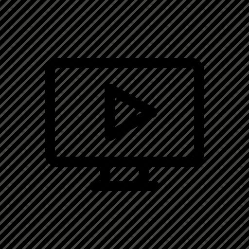 computer, film, graphic, motion, movie, pc, video icon
