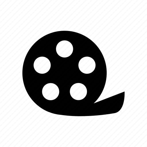 film, film reel, graphic, motion, movie, video icon