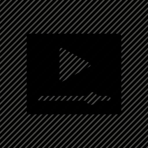 film, graphic, media, motion, movie, player, video icon