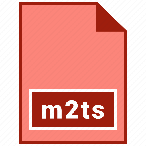 file format, m2ts, video icon