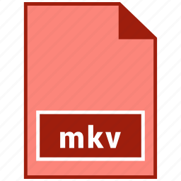 file format, mkv, video icon